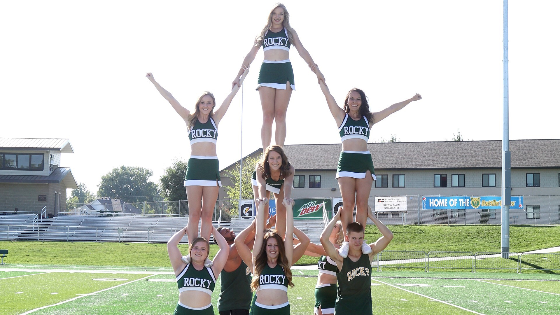 cheerleading rocky mountain college athletics
